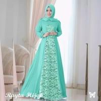 Paling Laris Gamis Rayta Long Dress Pesta Hijab Fashion Muslim Wanit