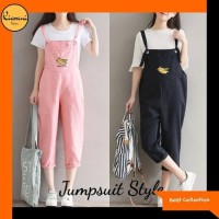 Terbaik Jumpsuit Style 806 - Pakaian Wanita 806 - Hitam