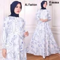 Paling Laku Baju Gamis Wanita Busana Muslim Wanita Gamis Maxi Emma