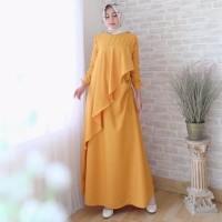Terlaku Baju Muslim Dress Maxidress Wanita Lqn