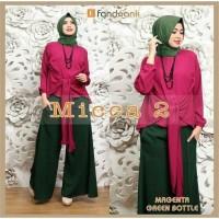 Paling Laris Baju Muslim Dress Set Mc Jersey