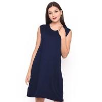 Terbaik Lemone T-Shirt Cewe Spandek Premium Dress Wanita 12100082