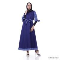 Paling Murah Mariana Dress Navy - Navy