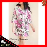 Paling Laris Jumpsuit Wanita Flower 400 - Baju Jumpsuit Flower 400 -