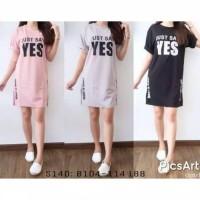 Paling Laris Dress Wanita Yes - Hitam