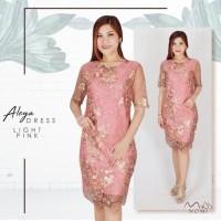 Terlaris Dress Lace Midi Jumbo/ Dress Brukat Jumbo Bodycon Mini/ Gaun