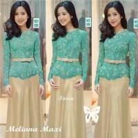 Paling Murah Baju Muslim Dress Maxi Dress Brukat Meli