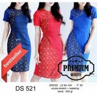 Paling Laku Dress Pesta Ekslusive Premium Sed521