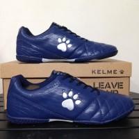 Special Product Sepatu Futsal Kelme Power Grip Navy Silver 1102107