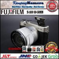 FUJIFILM X-A10 / XA10 16-50MM ORIGINAL PAKET LENGKAP
