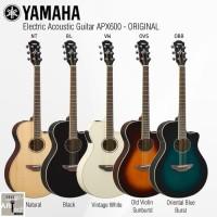 Gitar Akustik Elektrik YAMAHA APX600 / APX 600 (Penerus 500II / 500 )