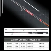 joran daiwa jupiter power tip 180