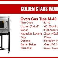 OVEN GAS GOLDEN STAR M-40 via ekpedisi