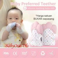 Baby Mitten Teether Sarung Tangan Gigitan bayi