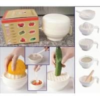 Set Peralatan Makan Bayi / Alat Makan Bayi food maker set food making