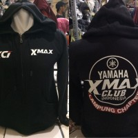 Sweater jacket zipper Yamaha XMAX