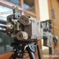 FMA anpeg 15 green laser + flashlight (dark earth) color