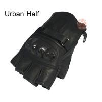 URBAN HALFfinger sarung tangan asli kulit untuk pengendara motor asli garut