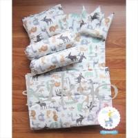 Baby set + mattress / kasur bayi / bed set bayi / baby bedding