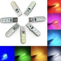Lampu Senja & Lampu Sen Jelly Crystal Led T10 Flash Strobo kedap-kedip