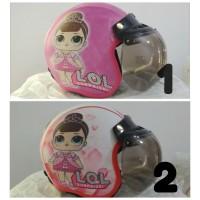 helm anak LOL - helm bogo - helm retro - termurah - helm anak