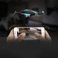 JY018 Elfie FPV Quadcopter Drone WiFi 2MP 720P Camera