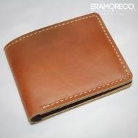 dompet kulit asli sapi pria warna tan | bifold wallet