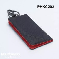 dompet stnk motor mobil model lipat buku hitam x merah
