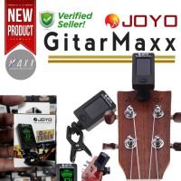 Joyo JT 01 Tuner Clip Gitar Bass dan Ukulele Jepit Akustik Elektrik