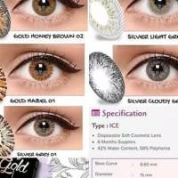 soflens ice silver gold normal