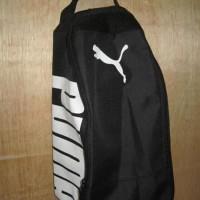 Special Product Tas Sepatu Futsal Bola Gym Fitness Puma Hitam Putih