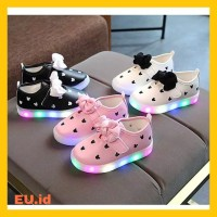 Sepatu Led/Sepatu Balita/Sepatu IMPORT Anak/Bayi Cewek Perempuan 🔥