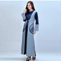 Azzurra 645-20 Casual Long Dress Wanita