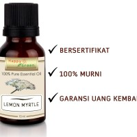 Happy Green Lemon Myrtle Essential Oil (10 ml) - Minyak Lemon Myrtle