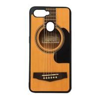 Custom Case Casing OPPO A7 Softcase Motif Gitar Akustik 02