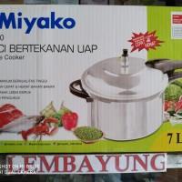MIYAKO PC-700 Panci Bertekanan Uap / Panci Presto 7 liter