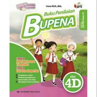 Bupena 4D Untuk Kelas 4 SD Tema 8 & 9 Edisi Revisi K13N