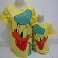 Baju Couple Mom Kids Kaos Pasangan Ibu Anak Fashion Murah Donald 5301