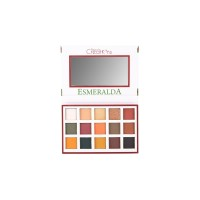 Beauty Creations Esmeralda Palette