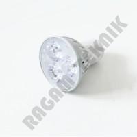 Lampu Led sorot tusuk tancep 3x1 watt GU5.3 220volt warm white