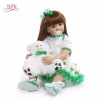 Boneka Reborn Clover Dress / Boneka Bayi / Boneka NPK / Boneka Toddler