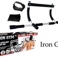 Iron Gym Alat Fitness Pull Up Alat Olahraga Angkat Badan