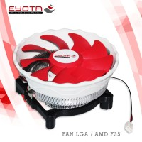 FAN CPU/HEATSINK COMBO LGA 775/AMD F35 EYOTA
