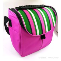 Lunch bag Import Insulated bag Aluminium Tas makanan Tas bekal