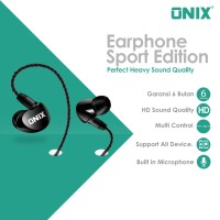 Onix Wired Headset SE-01 - Bass Expert Perfect Heavy Sound Quality