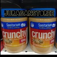 Sanitarium peanut butter crunchy 500gr