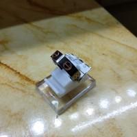 cincin Cartier black kombinasi rose gold