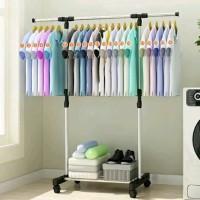 KR Stand Hanger Single Rak Gantung Serbaguna