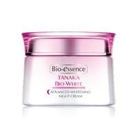 Bio Essence Tanaka Bio White Whitening Night Cream 50gr