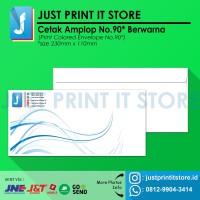 Print / Cetak Amplop No.90 (Custom Full Color) - area cetak 50